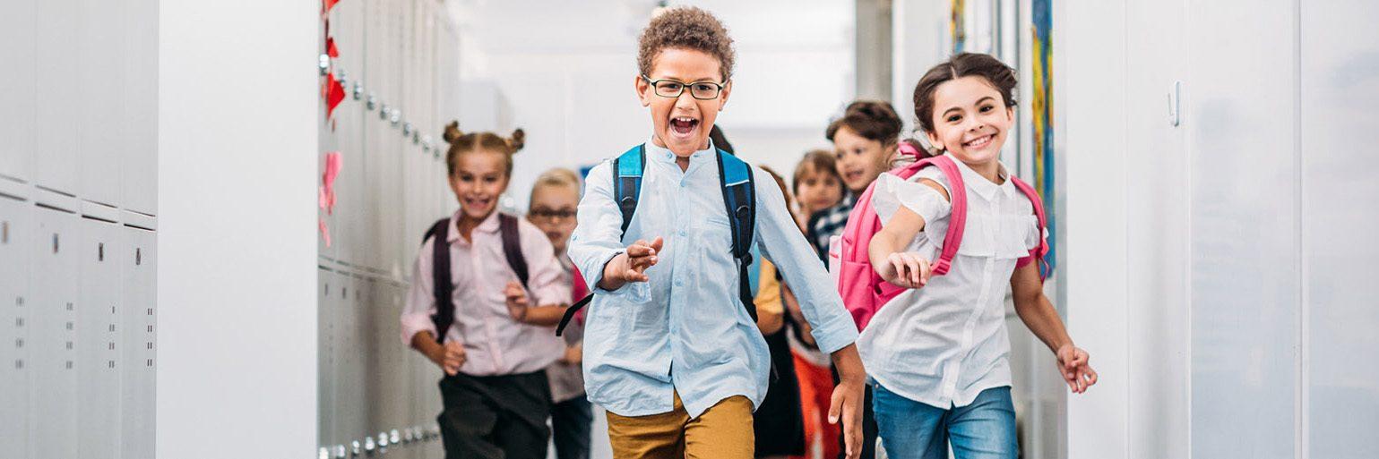 Curahill skolkorridor